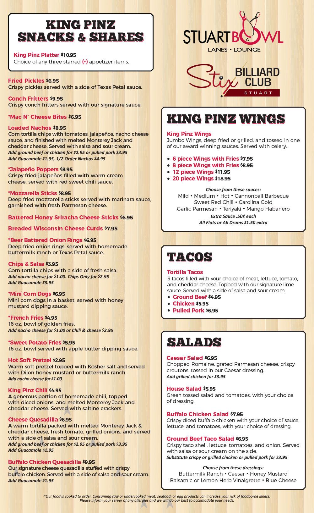 Food | Restaurant | Stuart Bowl | Stuart FL